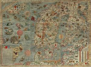 Carta Marina. Source: http://en.wikipedia.org/wiki/Carta_marina